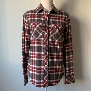 RVCA Plaid Women's Flannel